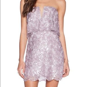 BCBGMAXAZRIA Sequin Purple Kate Dress!!!